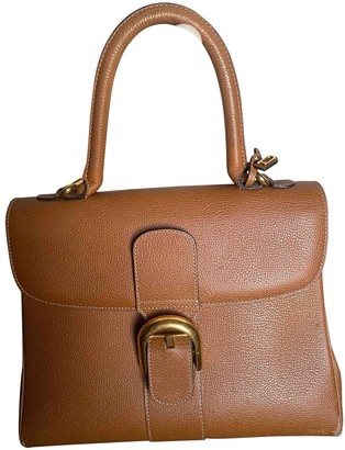 Delvaux Le Brillant Brown Leather Handbags