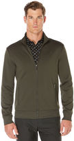 Perry Ellis Textured Full Zip Jacket