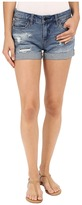 Blank NYC Denim Cuffed Distressed Shorts in Weekend Warrior Women's Shorts