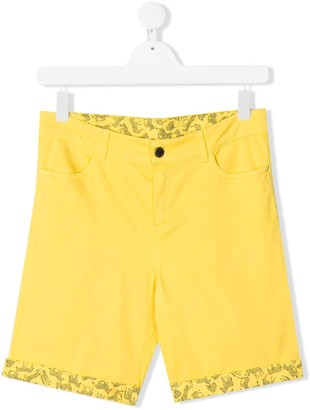 Paul Smith TEEN slim-fit denim shorts