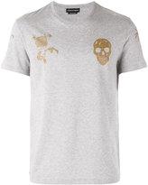 Alexander McQueen skull print T-shirt - men - Cotton - S