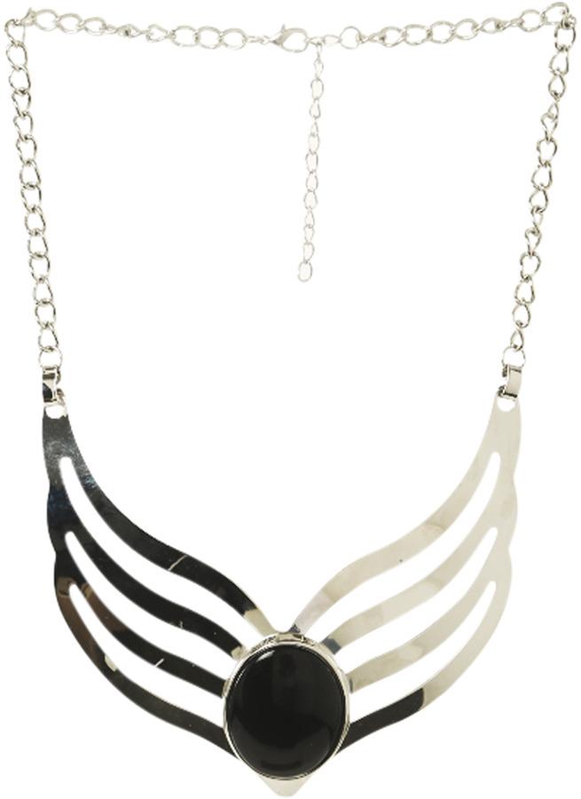 Arden B Curve Collar Stone Necklace