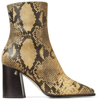 Jimmy Choo Bryelle 85 Leather Ankle Boots