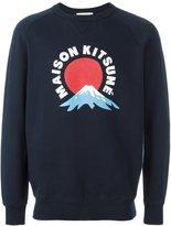 MAISON KITSUNÉ 'Mont Fuji' sweatshirt