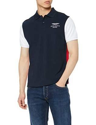 Hackett Men's Amr Col Block Polo Shirt