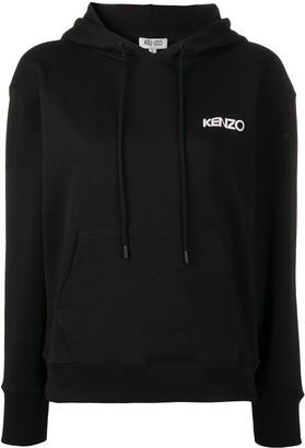 Kenzo x Vans floral print panel hoodie