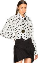 Jacquemus Gold Button Detail Shirt