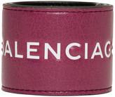 Balenciaga - Bracelet rose Cycle Logo
