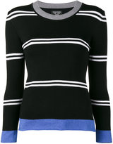 Creatures of the Wind long sleeved striped knit - women - Cotton/Viscose - S