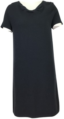 Allude Grey Cashmere Dress for Women