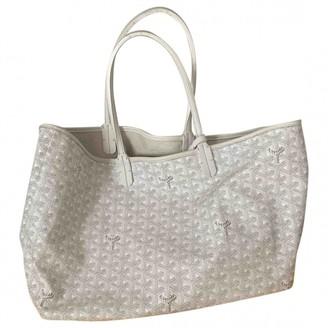 Goyard White Leather Handbags
