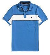 Tommy Hilfiger Men's Custom Fit Pieced Polo