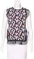 Giamba Patterned Knit Top