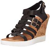 Qupid Women's Happa-03 Wedge Sandal