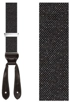 Trafalgar 'Donegal' Wool Blend Suspenders