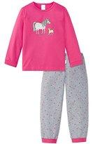 Schiesser Girl's Pony Mädchen Schlafanzug Lang Secondary Sleeping Suits
