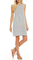 Roxy Just Simple Striped Knit Tank Dress