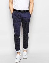 Antony Morato Polka Dot Suit Pants in Slim Fit