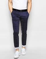 Antony Morato Polka Dot Suit Trousers In Slim Fit