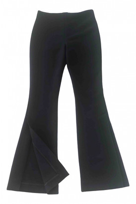 Awake Black Polyester Trousers
