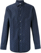 Brioni logo printed shirt - men - Cotton - S