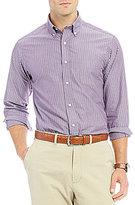 Daniel Cremieux Stripe Poplin Long-Sleeve Woven Shirt