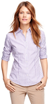 Brooks Brothers Petite Non-Iron Fitted Supima® Cotton Stripe Dress Shirt