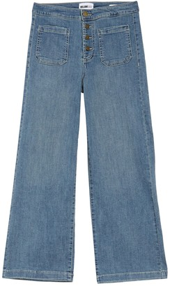 William Rast Wide Leg Cropped Jeans