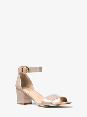 Michael Kors Lena Patent Leather Sandal
