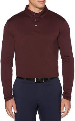 PGA Tour TOUR Mens Collar Neck Long Sleeve Polo Shirt