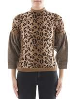 Loewe Women's Brown Wool Sweater.