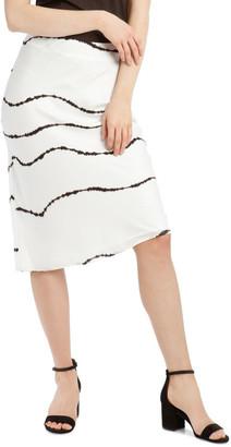 Milk and Honey Soft Bias Cut Midi Skirt