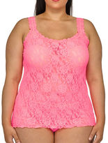 Hanky Panky Plus Floral Lace Unlined Camisole