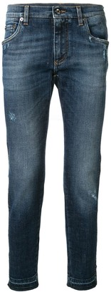 Dolce & Gabbana Side Panel Jeans