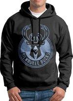 Sarah Men's Milwaukee Bucks Pond Logo Hoodie M