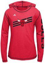 adidas Girls 7-16 Chicago Bulls Super Hoodie