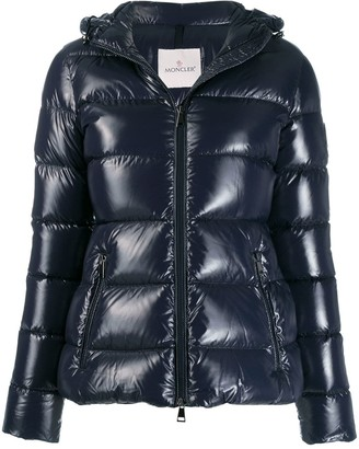 Moncler Rhin fitted zip-up jacket