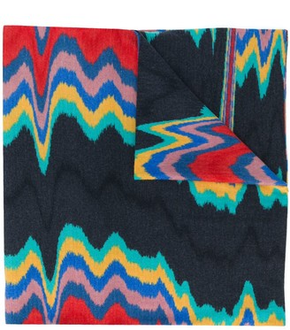 Missoni Abstract Print Wool Scarf