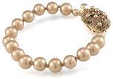 Carolee Audria Golden Pearl Bracelet