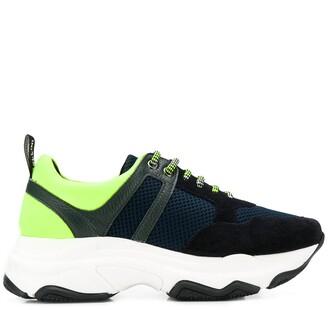 Pollini mesh upper sneakers