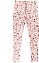 Hello Kitty Glitter-Star Leggings, Toddler Girls