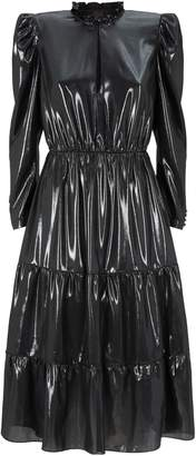Pinko Ruffle Trim Dress