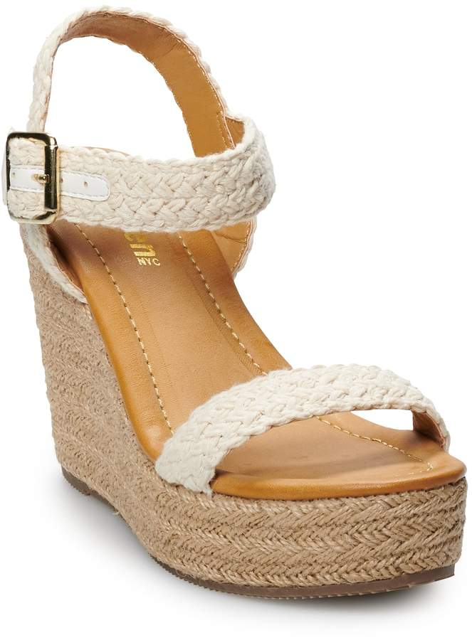Steve Madden Nyc NYC Vanity Women's Wedge Sandals
