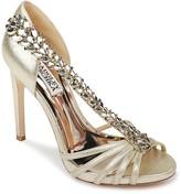 Badgley Mischka Emma II Embellished Heeled Sandal