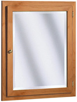 "Coastal Collection Salerno Series 24"" x 30"" Beveled Edge Medicine Cabinet"