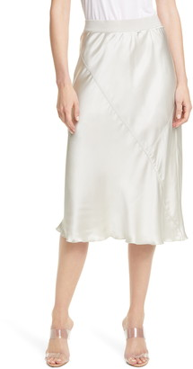 ATM Anthony Thomas Melillo Pull-On Silk Skirt