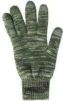 Asstd National Brand QuietWear 2-Layer Knit Touch Screen Gloves