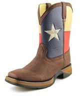 Durango Lil' Rebel Flag Youth Square Toe Synthetic Boot.