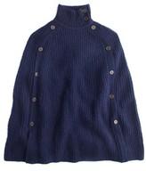 J.Crew Women's Convertible Sweater Cape