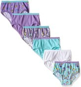 Fruit of the Loom Girls' Little 6pk Brief